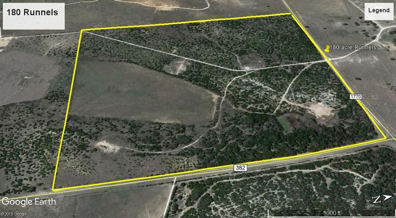 180 Acres Runnels County in Winters, Runnels County, Texas